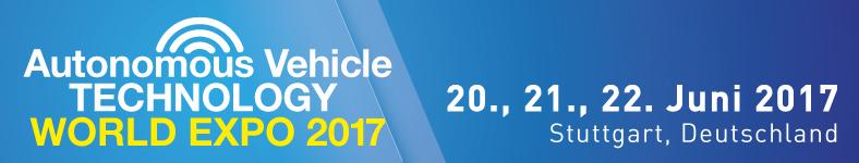 Autonomous Vehicle Technology World EXPO 2017 - 20., 21., 22. Juni 2017 - Stuttgart, Deutschland