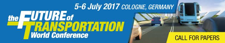 The Future of Transportation World Conference - 5-6 July 2017 - Cologne, Germany