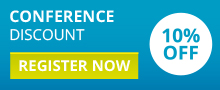 Conference discount - register now