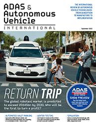 Autonomous Vehicle International magazine
