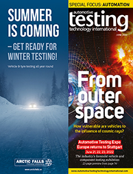 Automotive Testing Technology International magazine